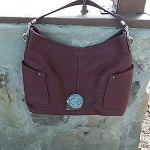NWOT Relic maroon purse